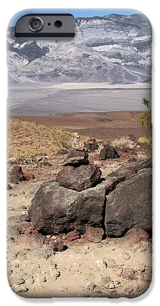 The Salt Flats of Death Valley iPhone Case by Christine Till
