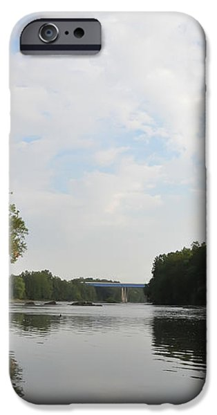 The Schuylkill River at West Conshohocken iPhone Case by Bill Cannon