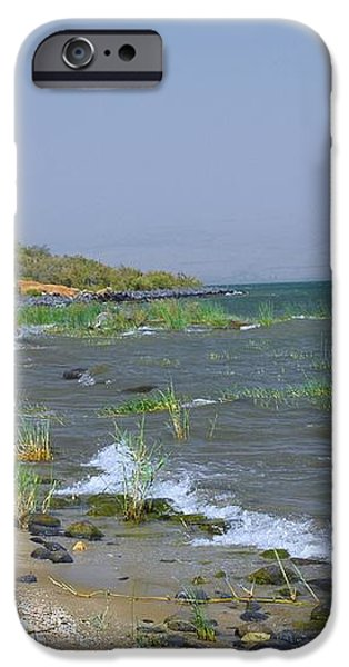 The Sea of Galilee iPhone Case by Eva Kaufman