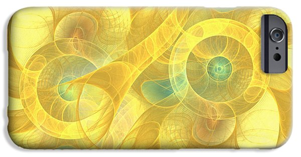 Asymmetrical Mixed Media iPhone Cases - The Seven Veils iPhone Case by Georgiana Romanovna