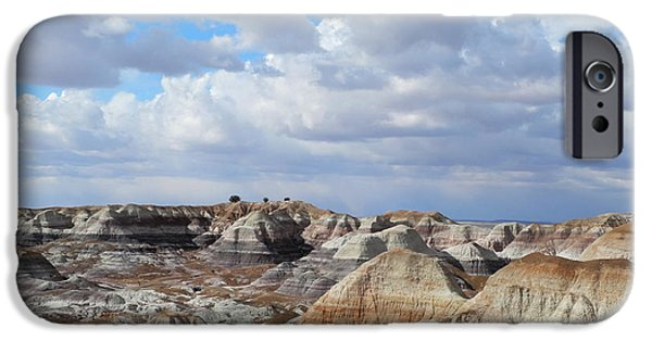 Drama iPhone Cases - The Sky Clears By Blue Mesa iPhone Case by Lynda Lehmann