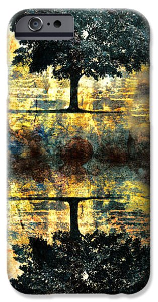 Fantasy Tree iPhone Cases - The Small Dreams of Trees iPhone Case by Tara Turner