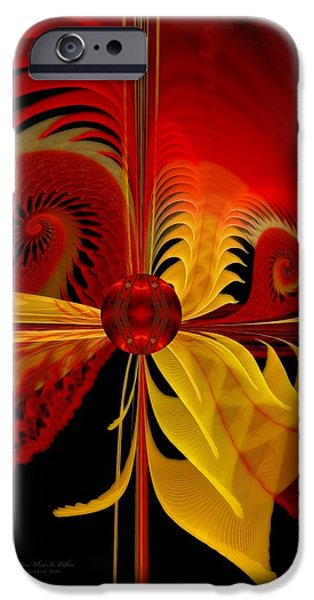 The Soul Sees What is Within iPhone Case by Gayle Odsather