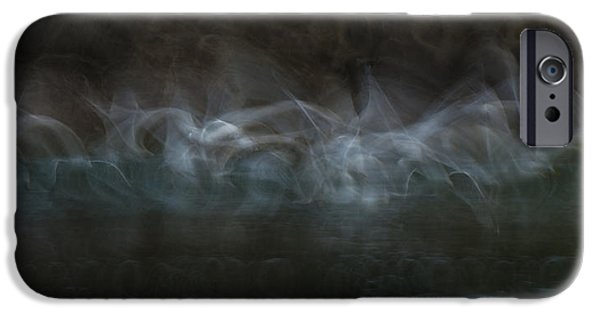 Herring Gull iPhone Cases - The Souls of Dead Sailors iPhone Case by Andy Astbury