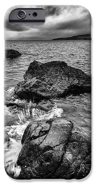The sound of the waves iPhone Case by John Farnan