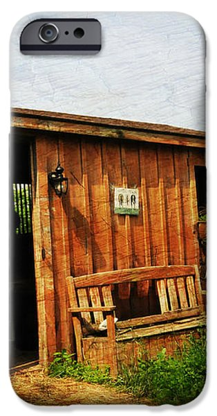 The Stable iPhone Case by Paul Ward