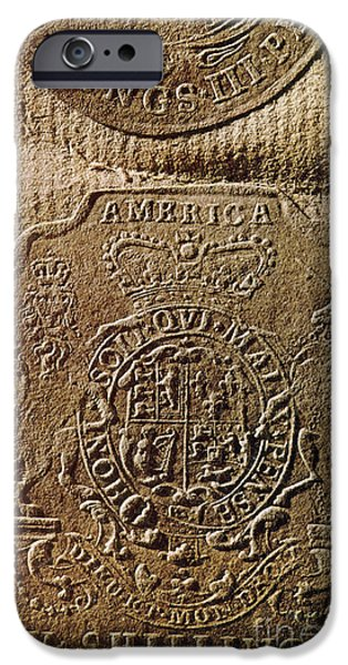 The Stamp Act iPhone Case by Photo Researchers
