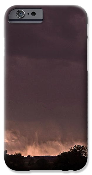 The Storm is Coming ... iPhone Case by Juergen Weiss