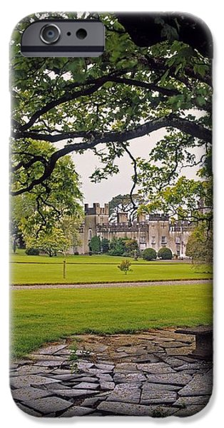 The Sundial Terrace, Glin Castle, Co iPhone Case by The Irish Image Collection