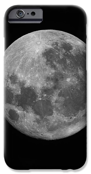 The Supermoon Of March 19, 2011 iPhone Case by Phillip Jones