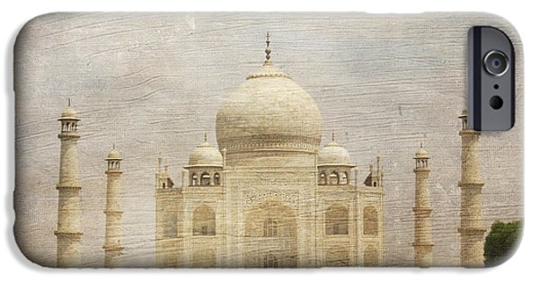 White House iPhone Cases - The Taj Mahal iPhone Case by Paul Ward