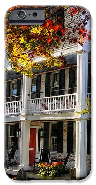 The Tavern at Grafton - Grafton Vermont iPhone Case by Thomas Schoeller