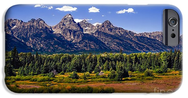 Stupendous iPhone Cases - The Tetons II iPhone Case by Robert Bales