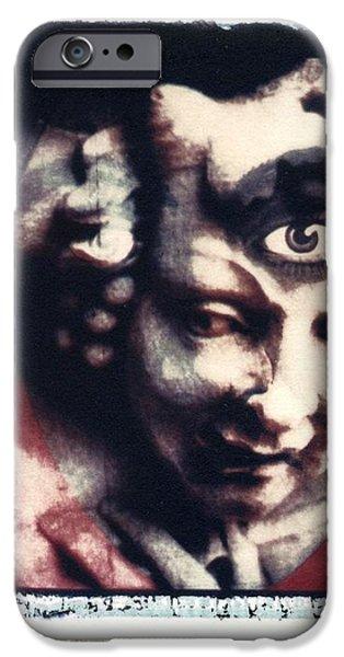 The Third Eye Polaroid transfer iPhone Case by Jane Linders