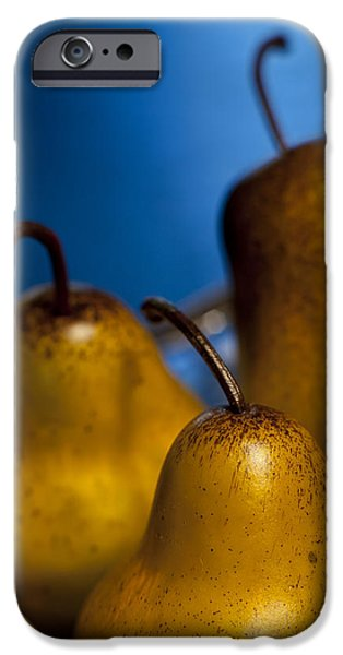 The Three Pears iPhone Case by Scott Norris