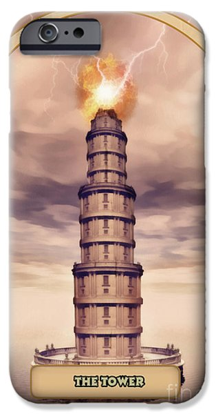 Esoteric iPhone Cases - The Tower iPhone Case by John Edwards