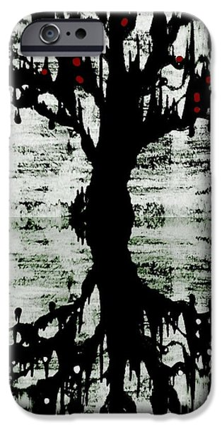 Amy Sorrell iPhone Cases - The Tree The Root iPhone Case by Amy Sorrell