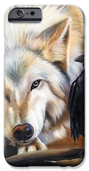The Truce iPhone Case by Sandi Baker
