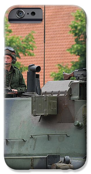 The Turret Of The Leopard 1a5 Main iPhone Case by Luc De Jaeger