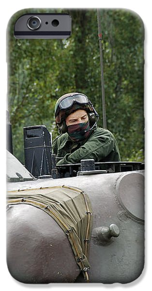 The Turret Of The Leopard 1a5 Mbt iPhone Case by Luc De Jaeger