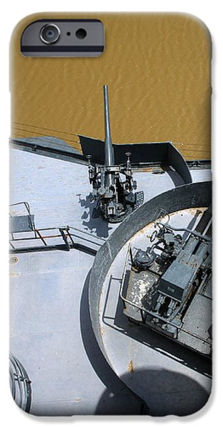 The Twin Bofors 40mm Anti-aircraft iPhone Case by Michael Wood
