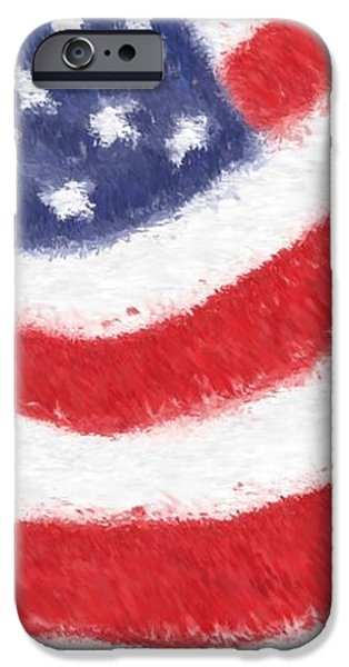 The United States Flag iPhone Case by Heidi Smith
