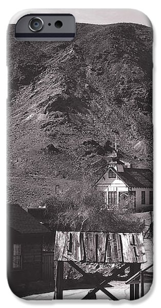 The Upper Village of Calico Ghost Town iPhone Case by Susanne Van Hulst