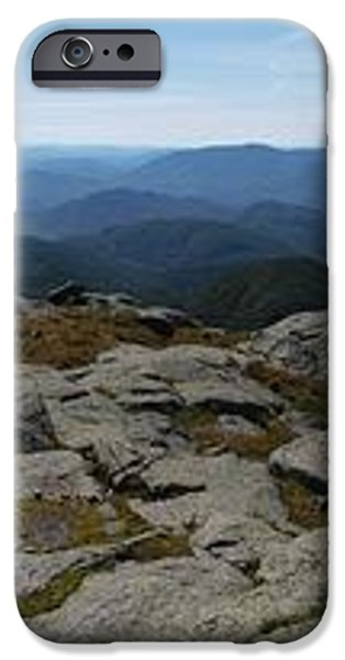 The View North from Mt. Marcy iPhone Case by Joshua House