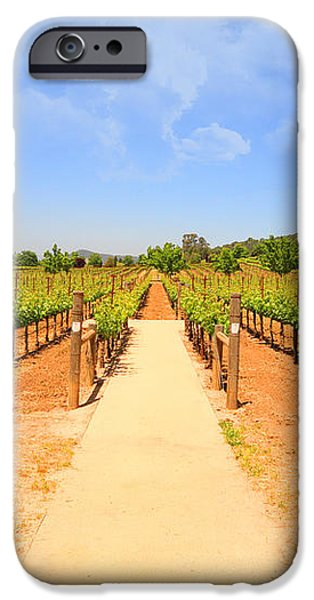 The Vineyard iPhone Case by Cheryl Young