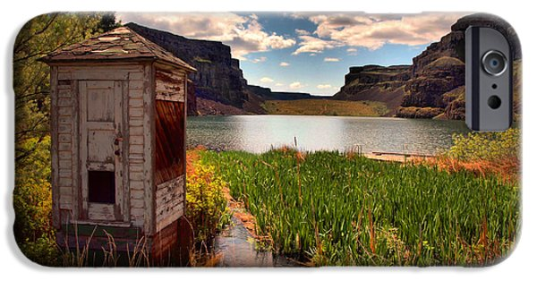 Shed iPhone Cases - The Water Shed iPhone Case by Tara Turner