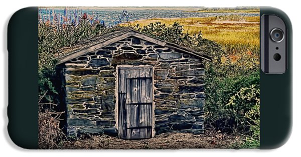 Nature Scene iPhone Cases - The Water Shed Bristol Rhode Island iPhone Case by Tom Prendergast