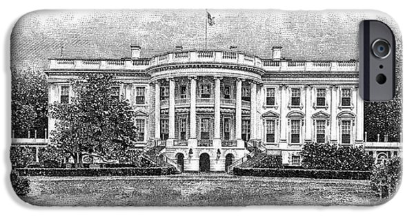 White House iPhone Cases - The White House iPhone Case by Granger