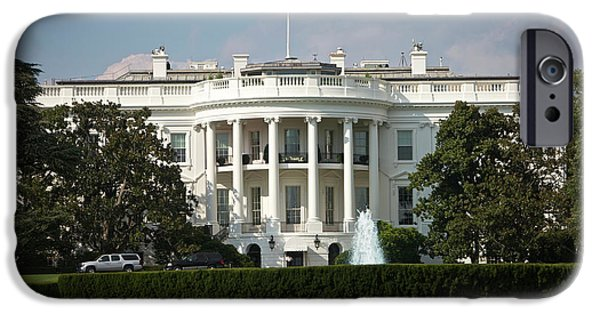 White House iPhone Cases - The White House, Washington D.c., Usa iPhone Case by Terry Moore