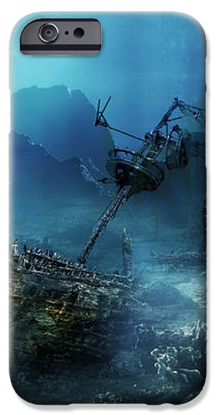 The Wreck iPhone Case by Karen H