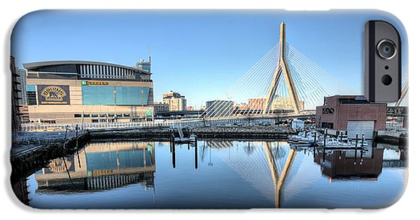 Charles River iPhone Cases - The Zakim iPhone Case by JC Findley