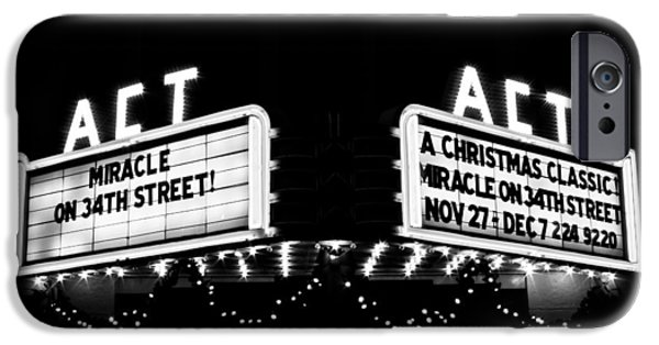 Miracle iPhone Cases - Theatre Marquee iPhone Case by Lynne Jenkins