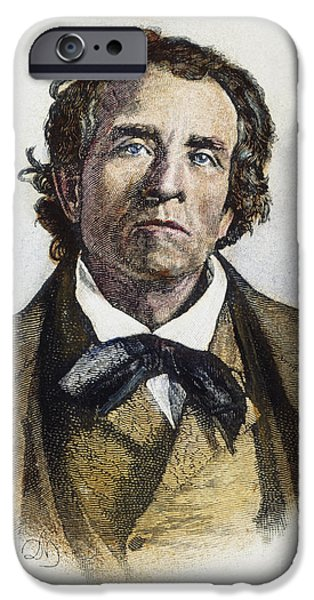 THEODORE WELD (1803-1895) iPhone Case by Granger