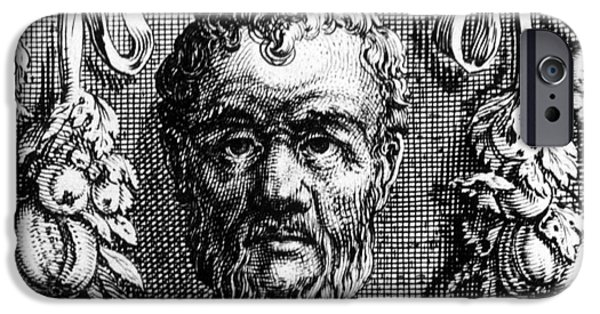 Metaphysics iPhone Cases - Theophrastus, Ancient Greek Polymath iPhone Case by Photo Researchers