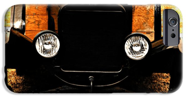 Ford Model T Car iPhone Cases - Things that crank iPhone Case by Steven  Digman