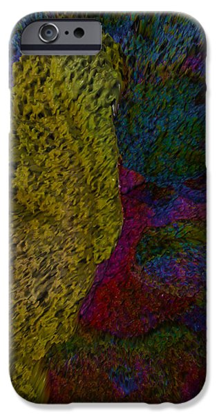 Abstract Digital Photographs iPhone Cases - This Is It iPhone Case by Robert Margetts