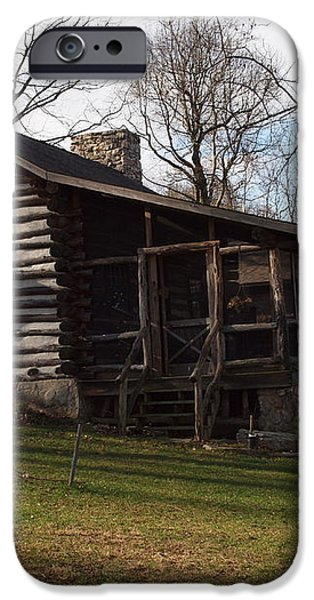 this old cabin iPhone Case by Robert Margetts