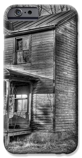 This old House iPhone Case by Todd Hostetter