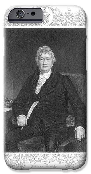 THOMAS CLARKSON (1760-1846) iPhone Case by Granger