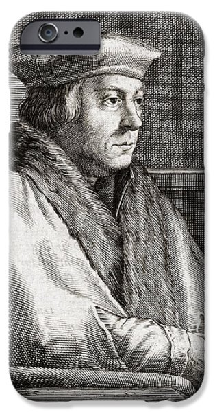 Thomas Cromwell, English Statesman iPhone Case by Middle Temple Library