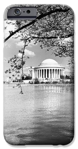 Tidal Photographs iPhone Cases - Thomas Jefferson Memorial iPhone Case by Granger