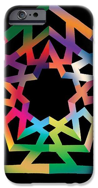 Thoreau Star iPhone Case by Eric Edelman
