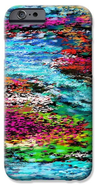thought upon a stream iPhone Case by David Lane