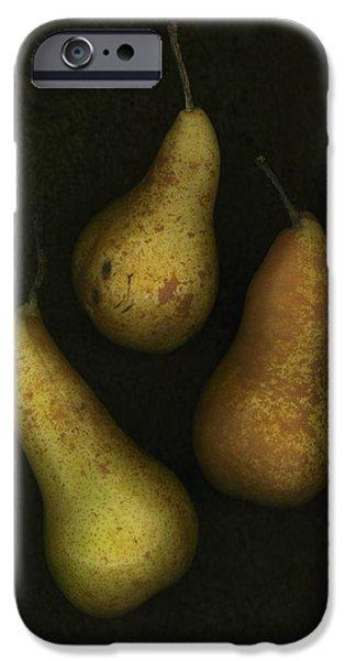 Three Golden Pears iPhone Case by Deddeda