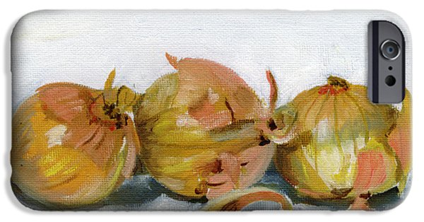 And iPhone Cases - Three Onions iPhone Case by Sarah Lynch