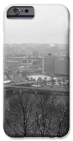 Three Rivers iPhone Case by David Bearden